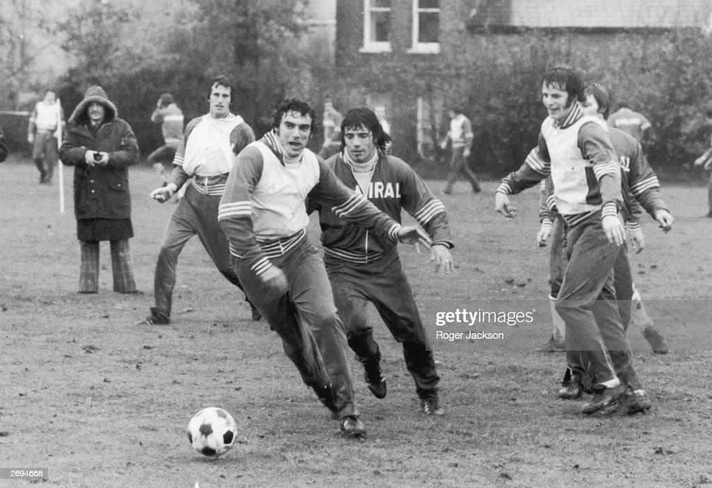 England Training : News Photo
