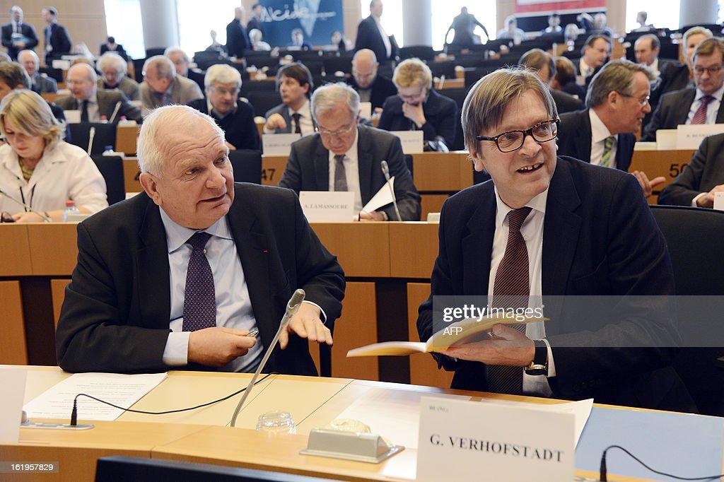 BELGIUM-EU-POLITICS-FINANCE-BUDGET : News Photo