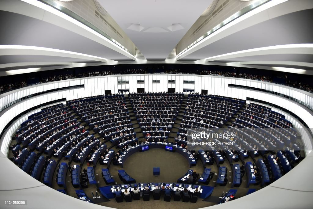 FRANCE-EU-PARLIAMENT-POLITICS-DIPLOMACY : News Photo