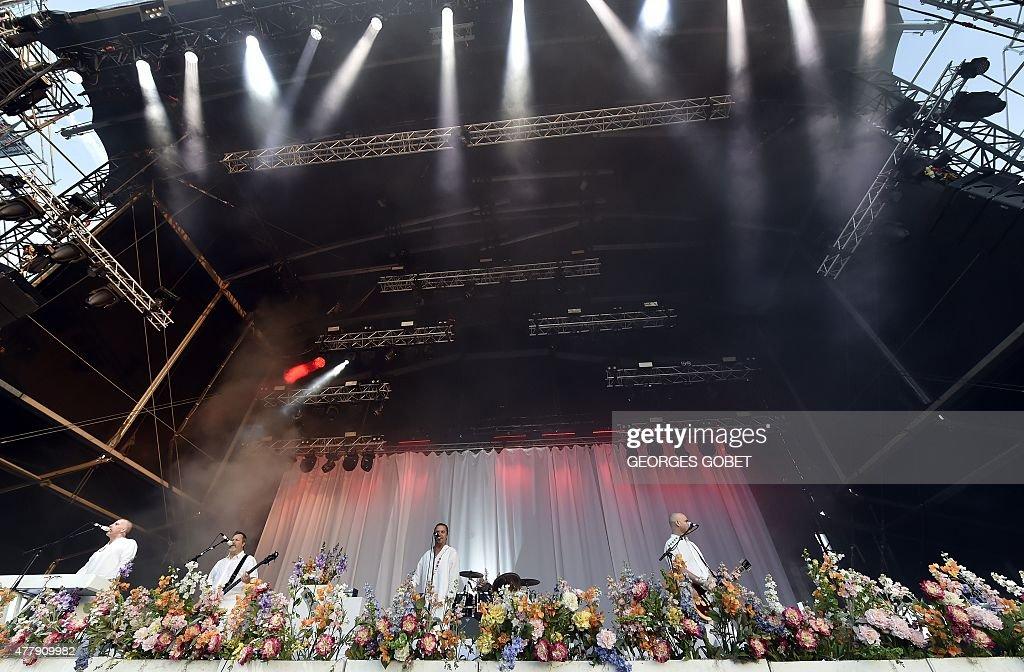 FRANCE-MUSIC-FESTIVAL-HELLFEST : News Photo