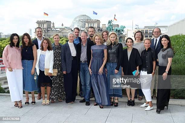 Members of the Fashion Council Germany Ambassador John Emerson and Kimberly Marteau Emerson Natascha von Laffert Michelle Logsdon Viona Evans Karen...