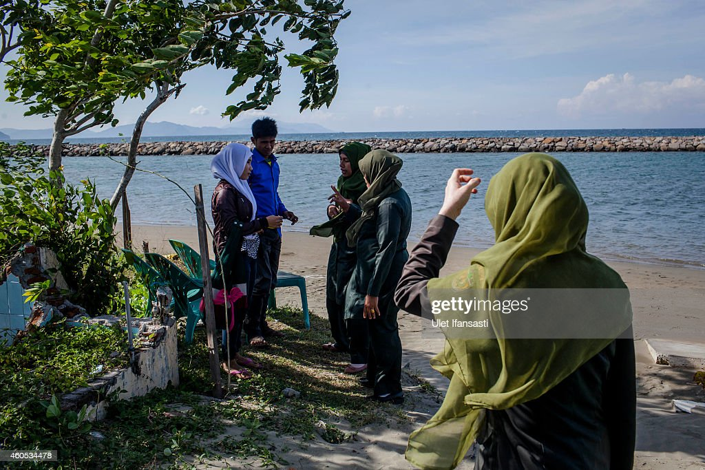 Banda-Aceh Prepares For 10th Anniversary Of Devastating Indian Ocean Tsunami : News Photo