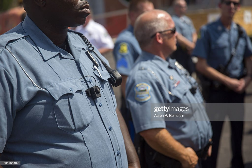 Rally Held in Ferguson Over Police Killing Of Michael Brown : News Photo