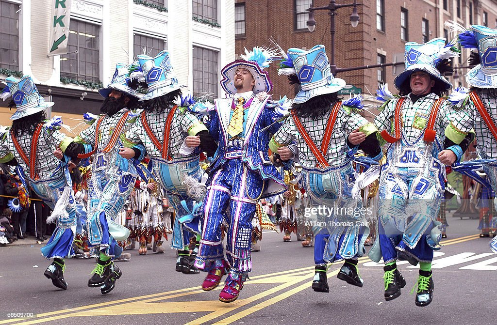 Philadelphia Holds Annual Mummers Day Parade : News Photo