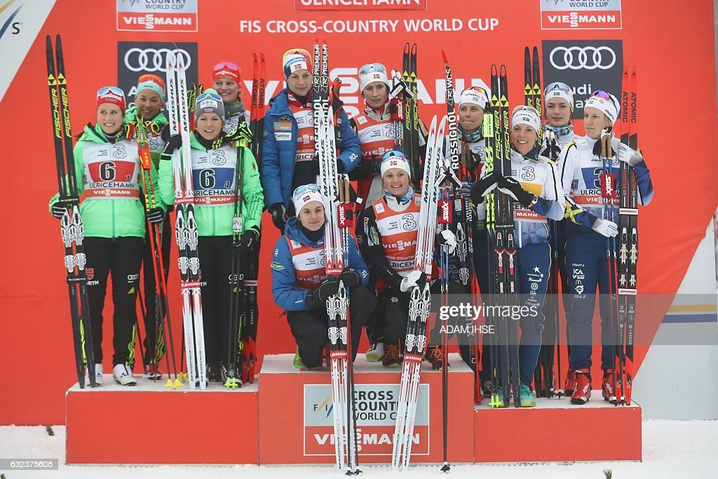 SWEDEN-WORLD-CUP-SKI : News Photo