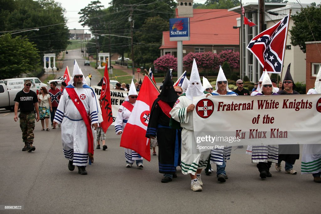 Ku Klux Klan Holds Annual Gathering In Tennessee : News Photo