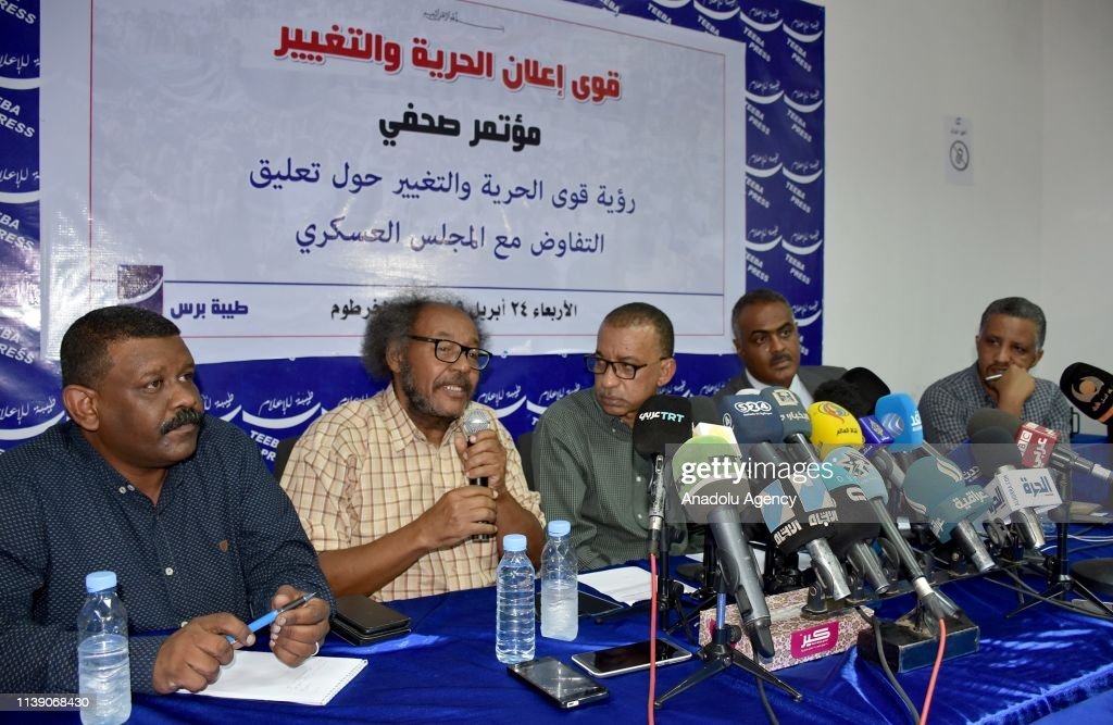 Sudan opposition rejects deadline for handover of power : Foto di attualità
