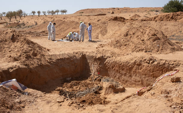 LBY: New Mass Grave Sites Discovered In Tarhuna