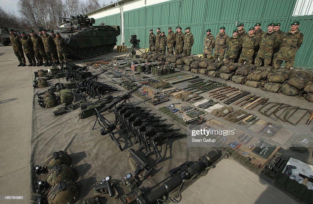 Bundeswehr To Participate In New NATO Ultra-Rapid Reaction Force : Nachrichtenfoto