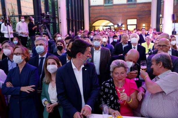 DEU: German Free Democrats (FDP) React To Initial Election Results