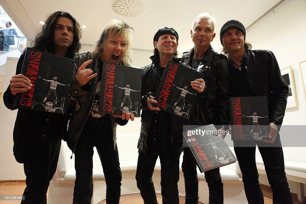 Members of the German rock band Scorpions Pawel Maciwoda