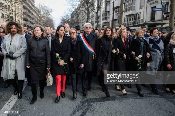 Members of the government Laura Flessel Nathalie Loiseau Brune Poirson Elisabeth Borne Marlene Schiappa Nicole Belloubet Francoise Nyssen Frederique...
