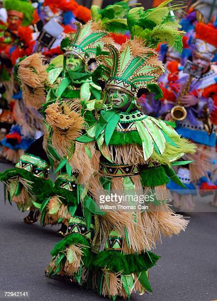 Members of the Greater Overbrook String Band perform during the 2007 Mummers Parade January 6 2007 in Philadelphia Pennsylvania Thousands came to...