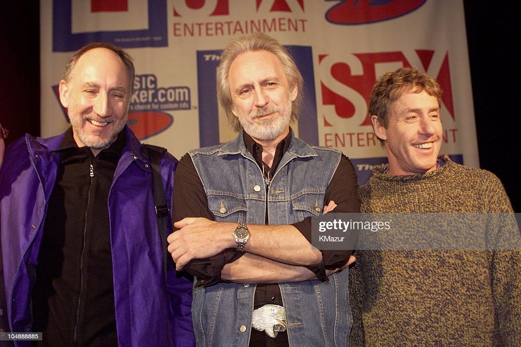 The Who Announce New Tour  - Press Conference