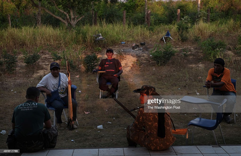 Indigenous Militia Strive to Protect Territory from Loggers in Brazil : News Photo