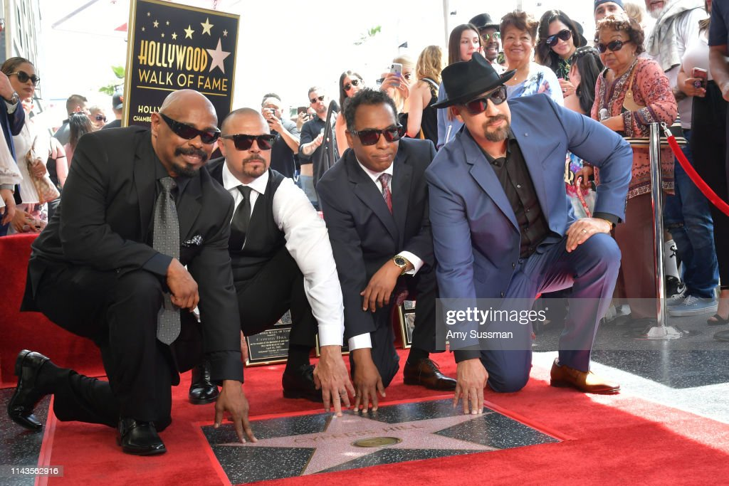 CA: Cypress Hill Honored With Star On The Hollywood Walk Of Fame