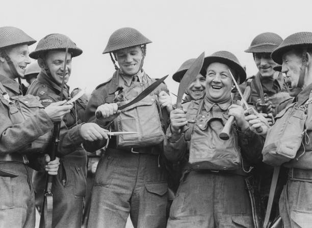 In Focus The Real Dad S Army The Home Guard Photos And