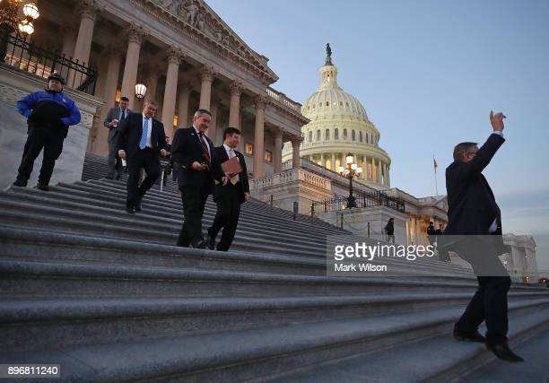 Members of the House of Representatives leave for Christmas break after passing a stopgap measure that will avoid a government shutdown one day...