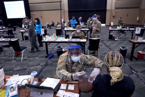 IL: Tinley Park Convention Center Serves As Mass Vaccination Site