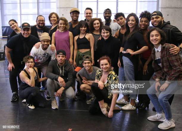 Members of the 'In the Heights' company during the Broadway Center Stage Rehearsal for 'In the Heights' on March 13 2018 at Baryshnikov Arts Center...