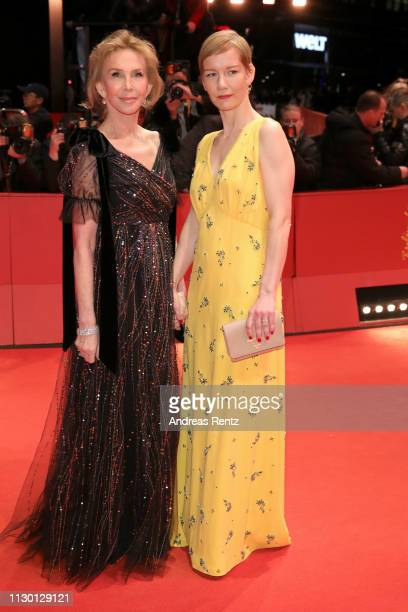 Members of the International Jury Trudie Styler and Sandra Hueller arrive for the closing ceremony of the 69th Berlinale International Film Festival...