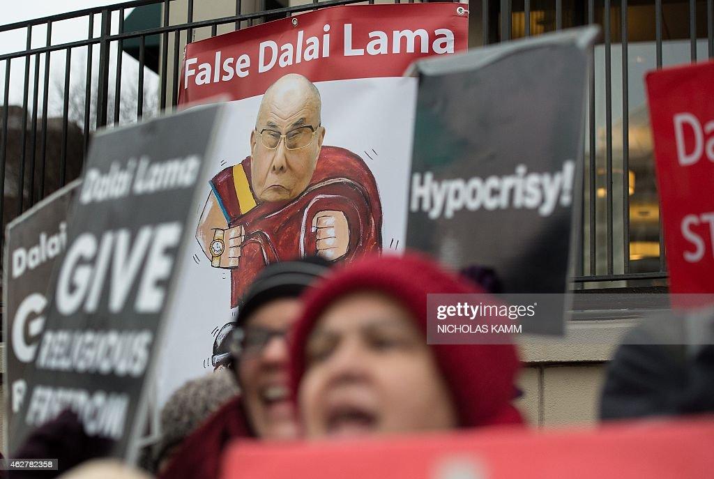 US-POLITICS-RELIGION-TIBET-PROTEST : News Photo