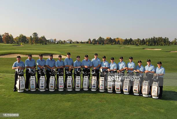 Members of the International Team Tony Johnsstone Angel Cabrera Jason Day Brendan de Jonge Graham DeLaet Ernie Els Branden Grace Nick Price Marc...