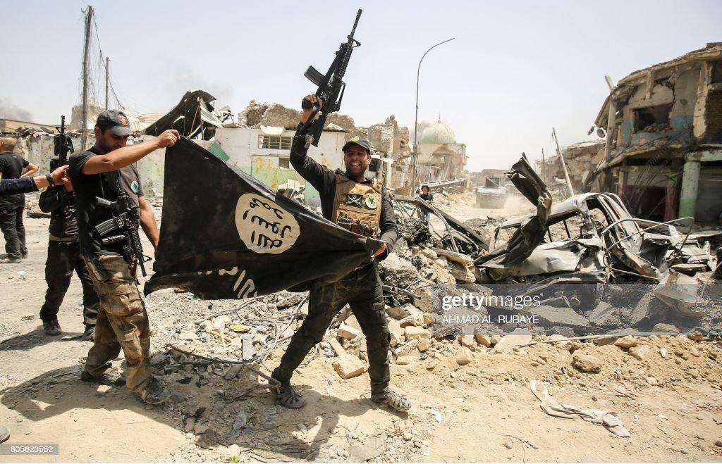 IRAQ-CONFLICT-MOSUL : Nachrichtenfoto