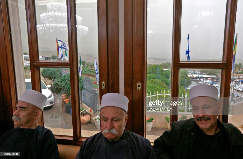 ISRAEL-RELIGION-DRUZE : Nachrichtenfoto