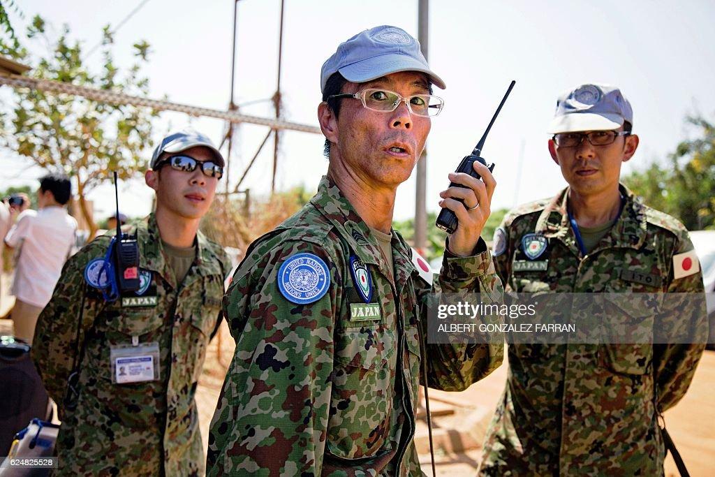 SSUDAN-JAPAN-UN-TROOPS : News Photo