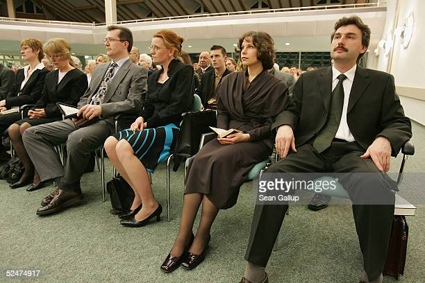 Members of the Jehova's Witnesses Church gather for a religious service March 24 2005 in Hennigsdorf Germany just outside of Berlin A Berlin court...