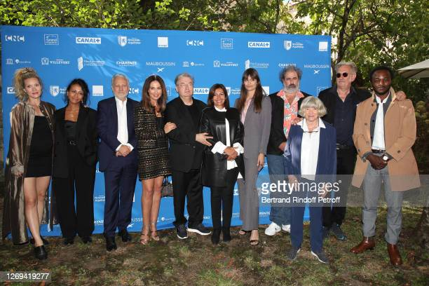 Members of the Jury Evelyne Brochu, Manele Labidi, Yves Bigot, Vice President of the Jury Elsa Zylberstein, Co-creator of the Festival Dominique...
