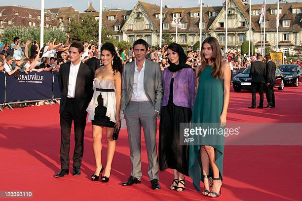 Members of the Jury French actor Benjamin Siksou French actress Sabrina Ouazani French screenwriter Samuel Benchetrit Iranian actress Leila Hatami...