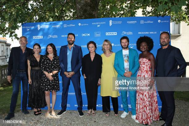 Members of the Jury : Laurent Weil, Maripier Morin, Bettina Oberli, Mehdi Nebbou, Jacqueline Bisset , Francoise Nyssen, Hugo Becker, Roukiata...