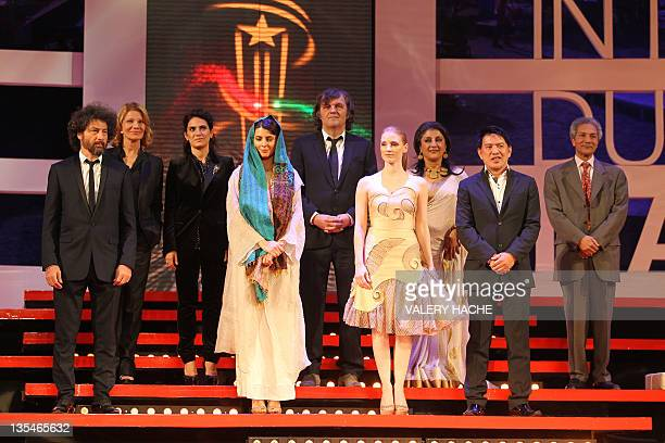 Members of the Jury Romanian director Radu Mihaileanu French director and actress Nicole Garcia Italian actress Maya Sansa Iranian actress Leila...
