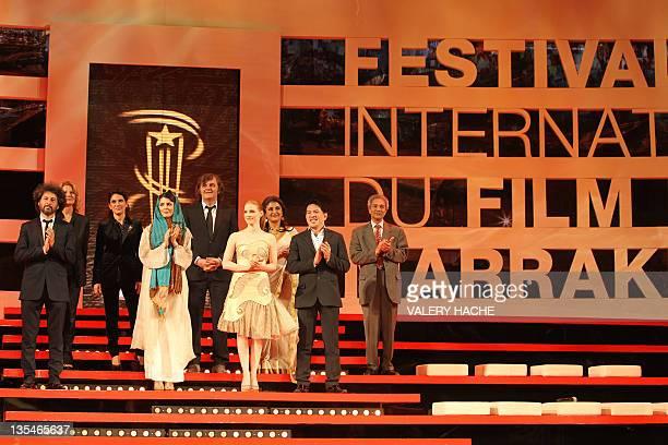 Members of the Jury Romanian director Radu Mihaileanu French director and actress Nicole Garcia Italian actress Maya Sansa Iranian actress Leila...
