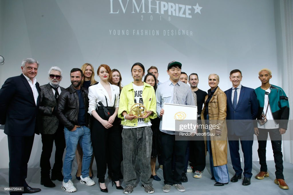 LVMH Prize 2018 Edition At Louis Vuitton Foundation In Paris : News Photo