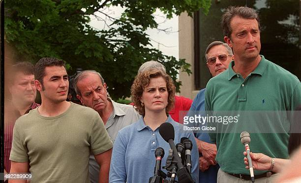 Members of the jury that convicted Dr Dirk Greineder of firstdegree murder in the death of his wife Mabel May Greineder in Wellesley in 1999 listen...