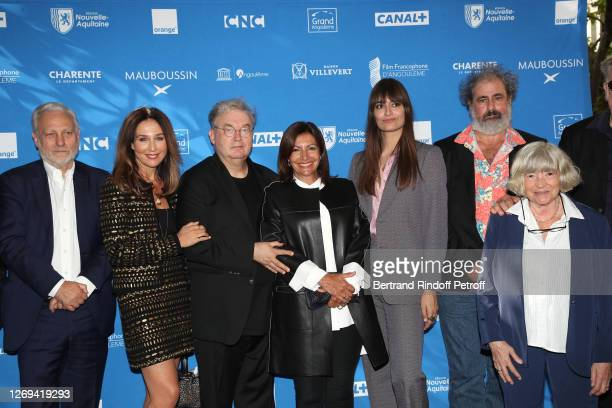 Members of the Jury Yves Bigot, Vice President of the Jury Elsa Zylberstein, Co-creator of the Festival Dominique Besnehard, Mayor of Paris Anne...