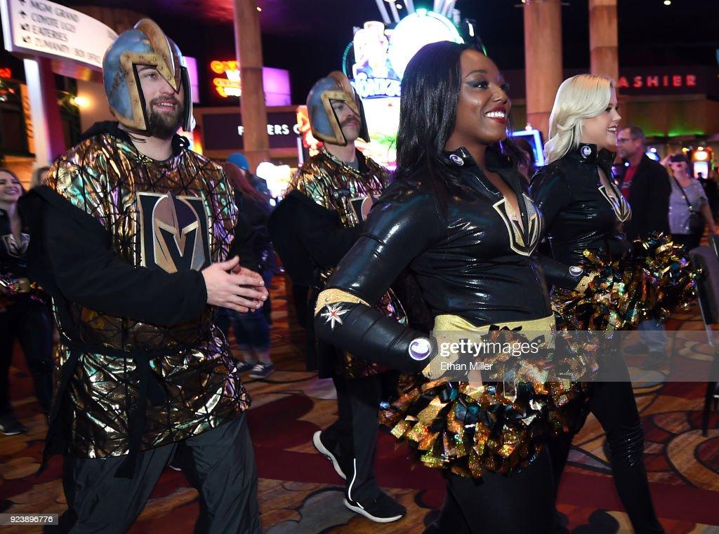 Vancouver Canucks v Vegas Golden Knights : News Photo