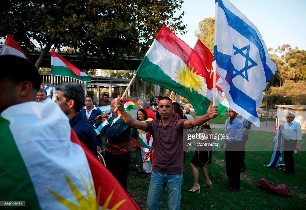 ISRAEL-IRAQ-KURDS-REFERENDUM : Nieuwsfoto's