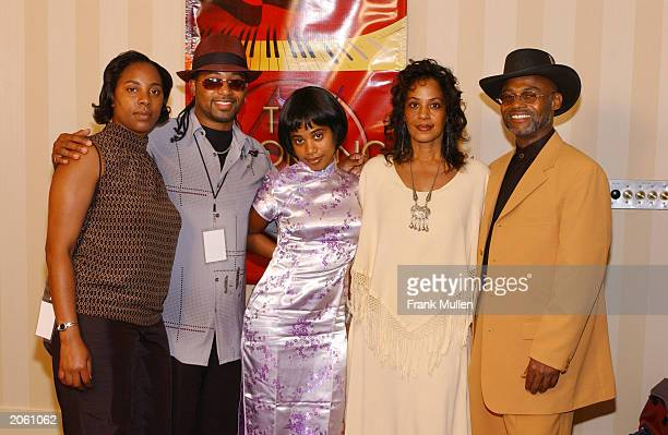 ATLANTA JUNE 5 Members of the late Lisa LeftEye Lopes' family before the 2nd Annual Atlanta Heroes Awards presented by NARAS June 5 in Atlanta...