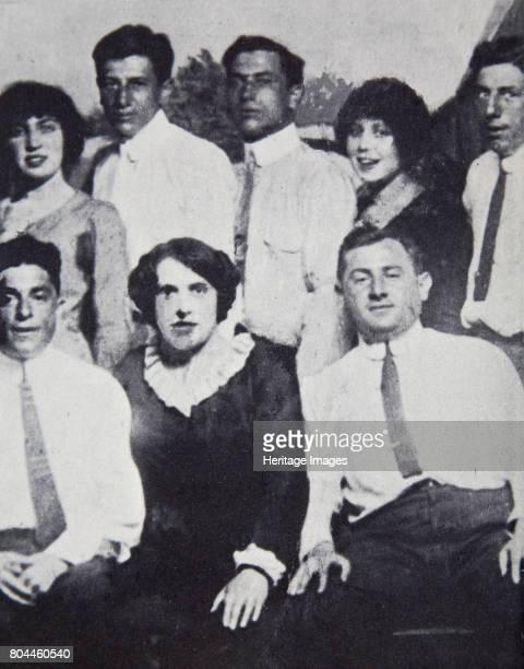 Members of the Lenox Avenue Gang at Coney Island New York USA 1912 The Lenox Avenue Gang was one of the most violent New York organised crime gangs...