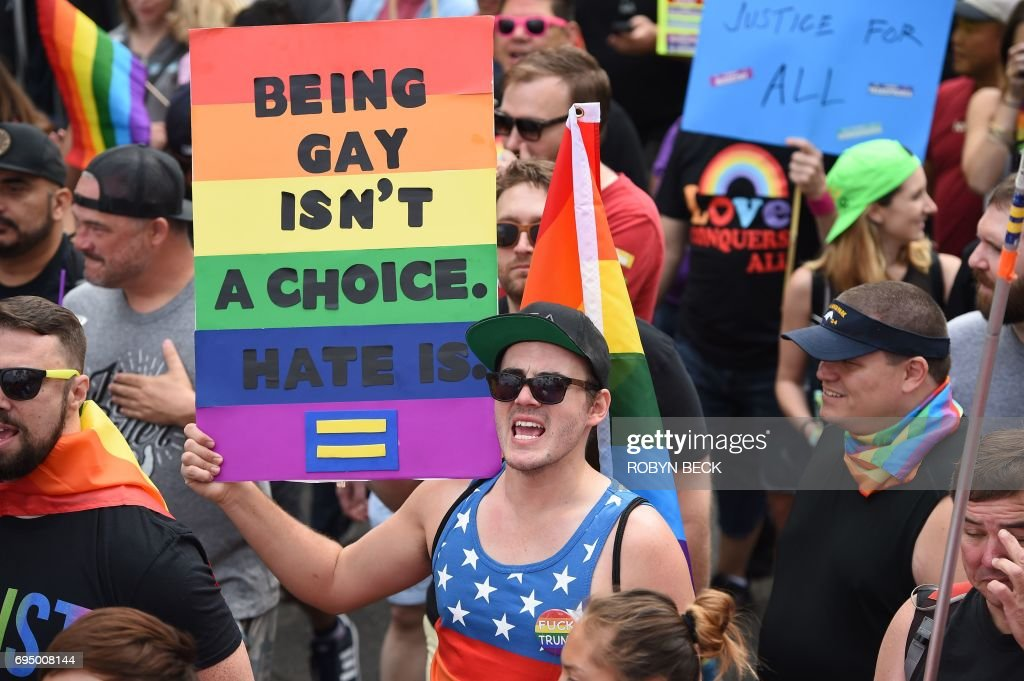 US-EQUALITY-MARCH-PRIDE-PARADE : News Photo
