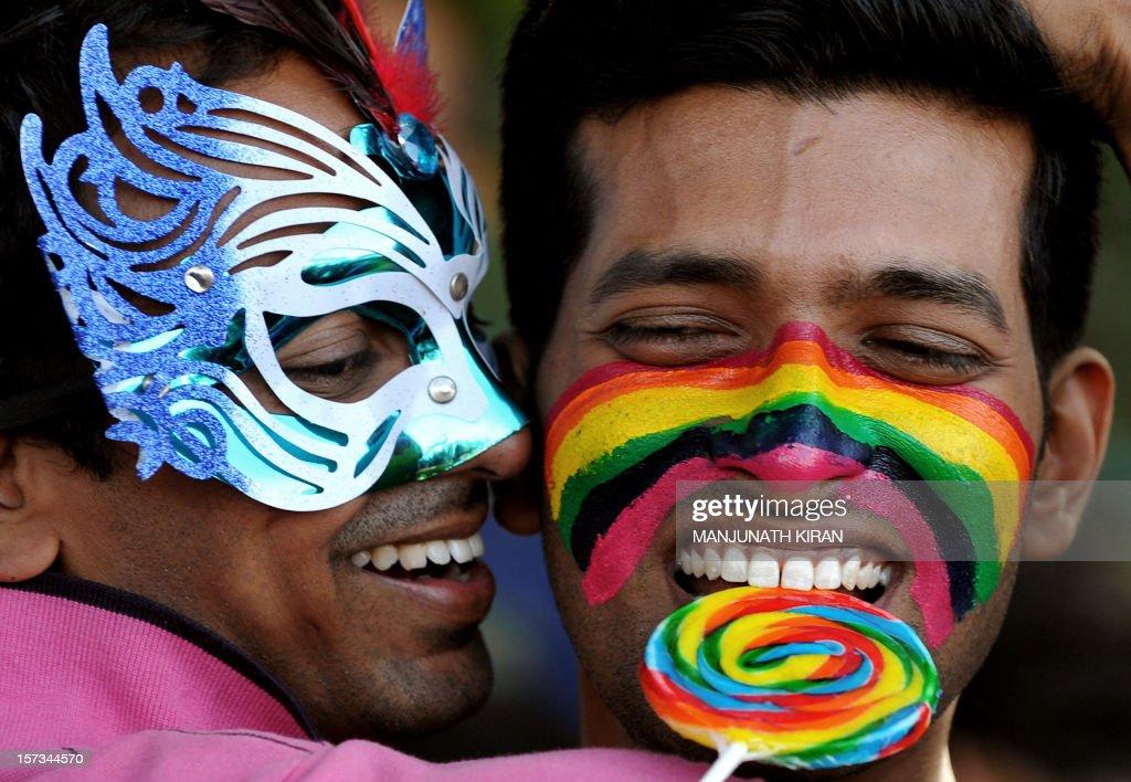 INDIA-SOCIAL-GAY-PRIDE : News Photo