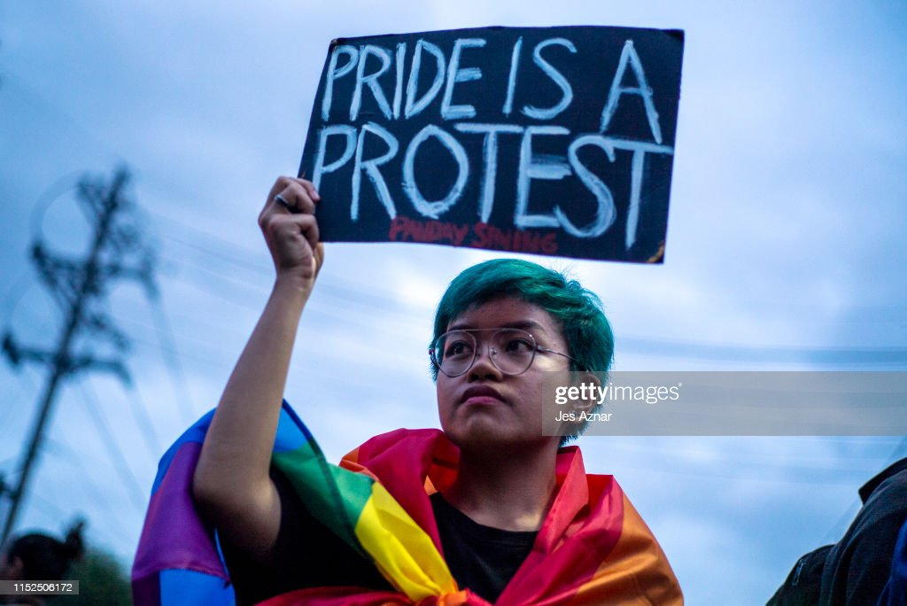 Filipinos Celebrate Gay Pride In Manila : News Photo