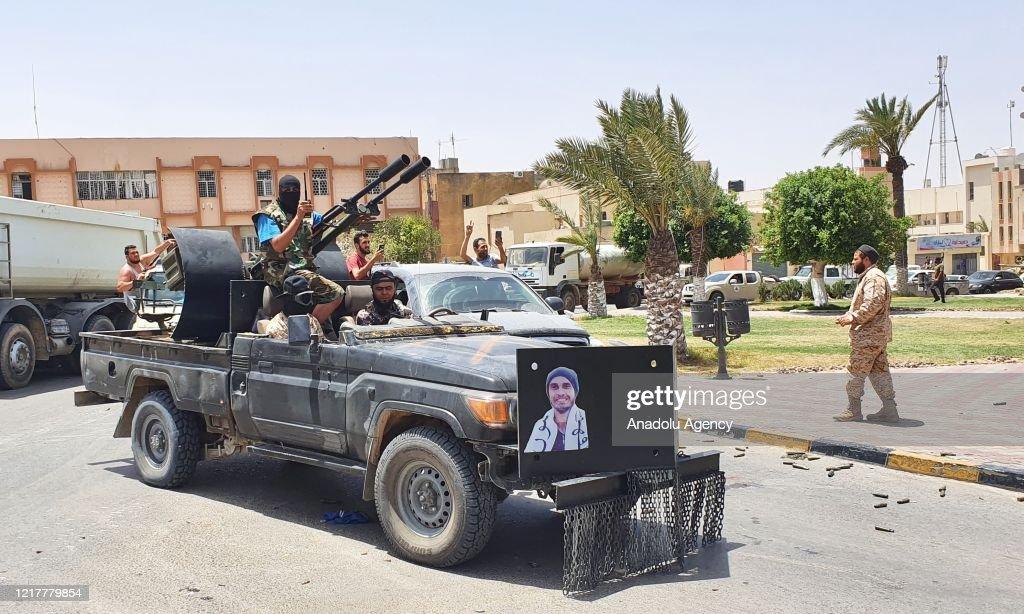 Libyan Army liberates strategic Tarhuna city : Nieuwsfoto's