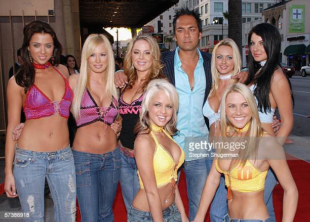 """Members of the Lingerie Bowl attend the premiere of TriStar Pictures' """"Silent Hill"""" at the Egyptian Theatre on April 20, 2006 in Hollywood,..."""