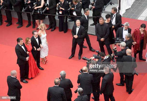 Members of the L'Oeil d'Or Jury Israeli cinematographer Dror Moreh French actress Sandrine Bonnaire Italian film critic Lorenzo Codelli and British...