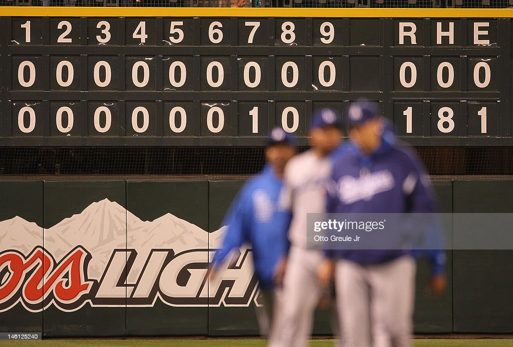 Los Angeles Dodgers v Seattle Mariners : News Photo